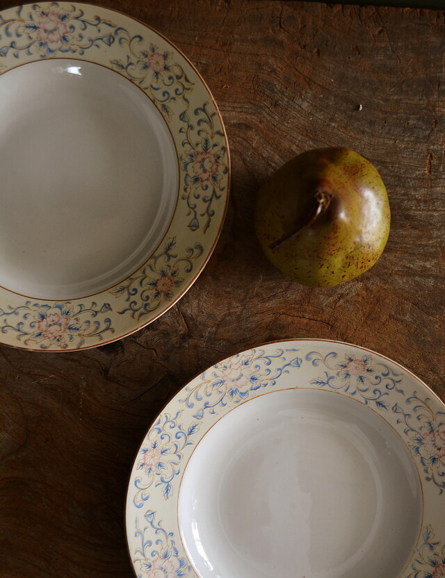 スーププレート4枚組 松村硬質陶器株式会社製