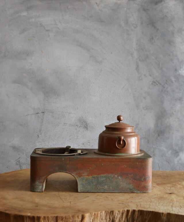 銅壷 長火鉢 火鉢道具