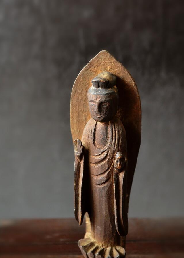 木彫小仏 仏教美術 小仏 厨子
