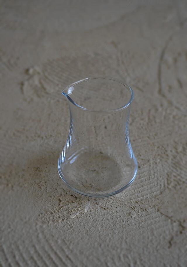 ガラス クリーマー  昭和レトロ