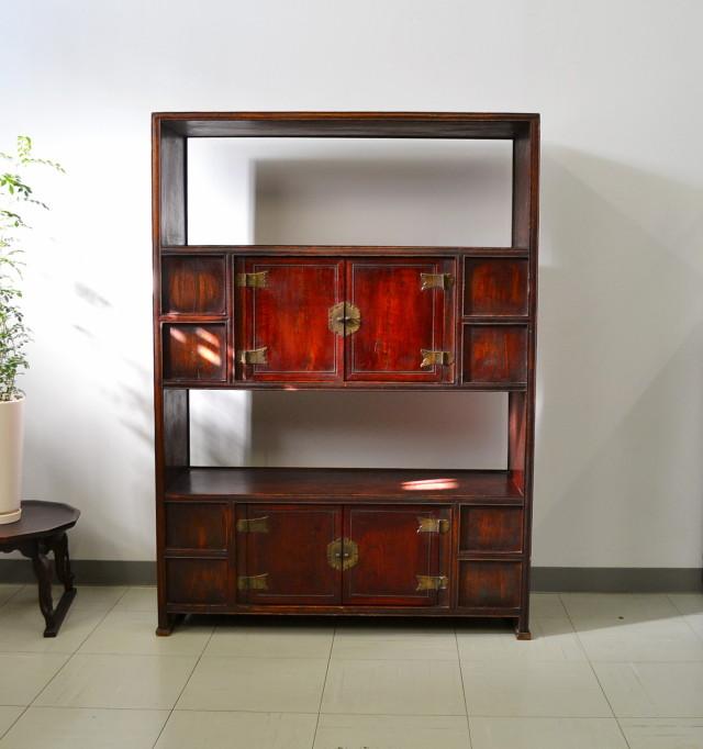 李朝家具 韓国家具書棚