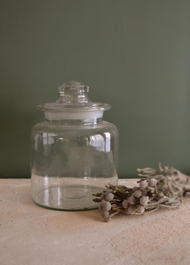 ガラス大瓶 保存ビン アンティーク瓶