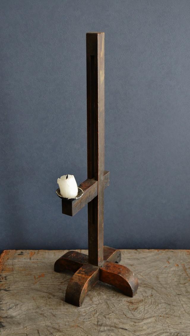 李朝 燭台