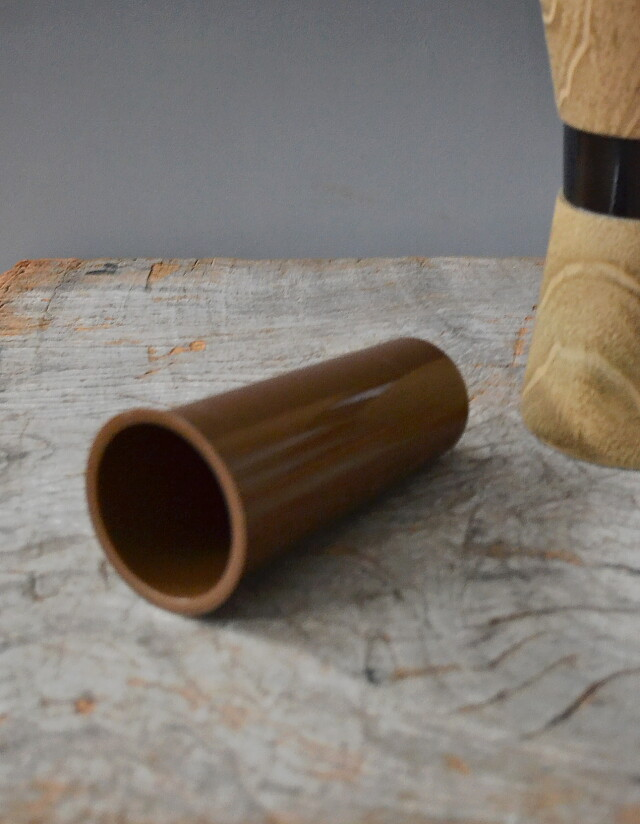 杵型 花器花生け 木製