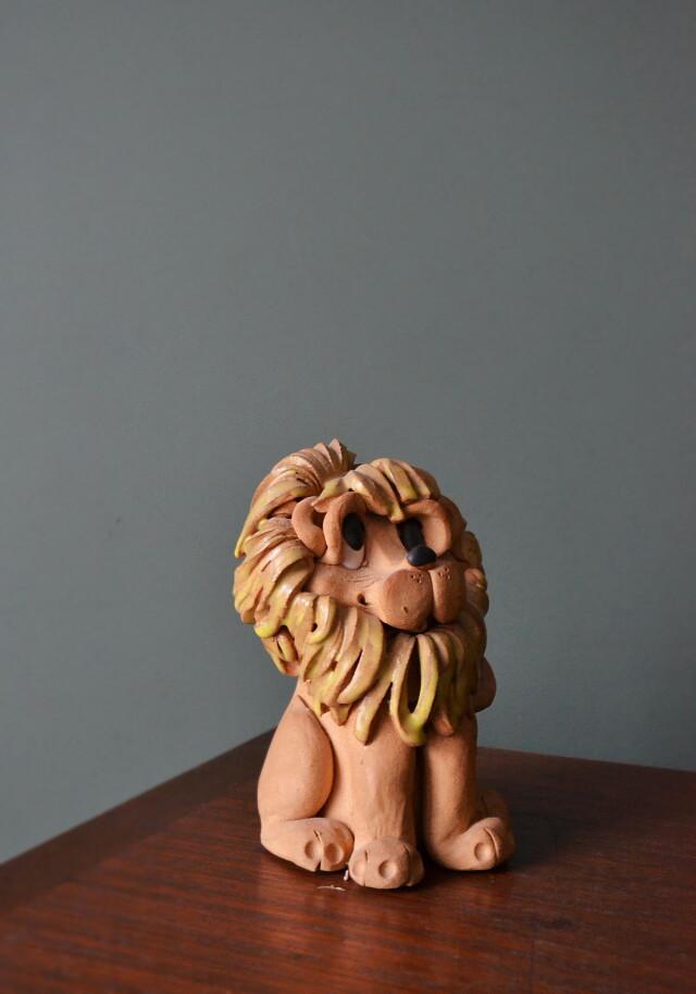 ライオンの置物 昭和レトロ