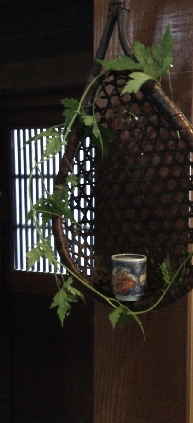 古竹の味わいあるうどんすくい