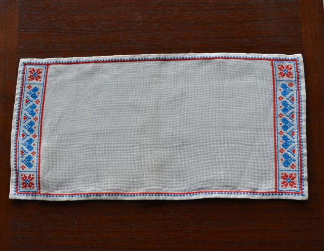 北欧リネン刺繍スウェーデン