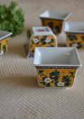 古九谷風手塩皿 5枚組 第弐陶器