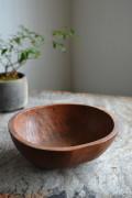 李朝 小さな捏ね鉢 木鉢 木製小鉢 アンティーク韓国