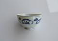 染付手描き梅紋煎茶茶碗