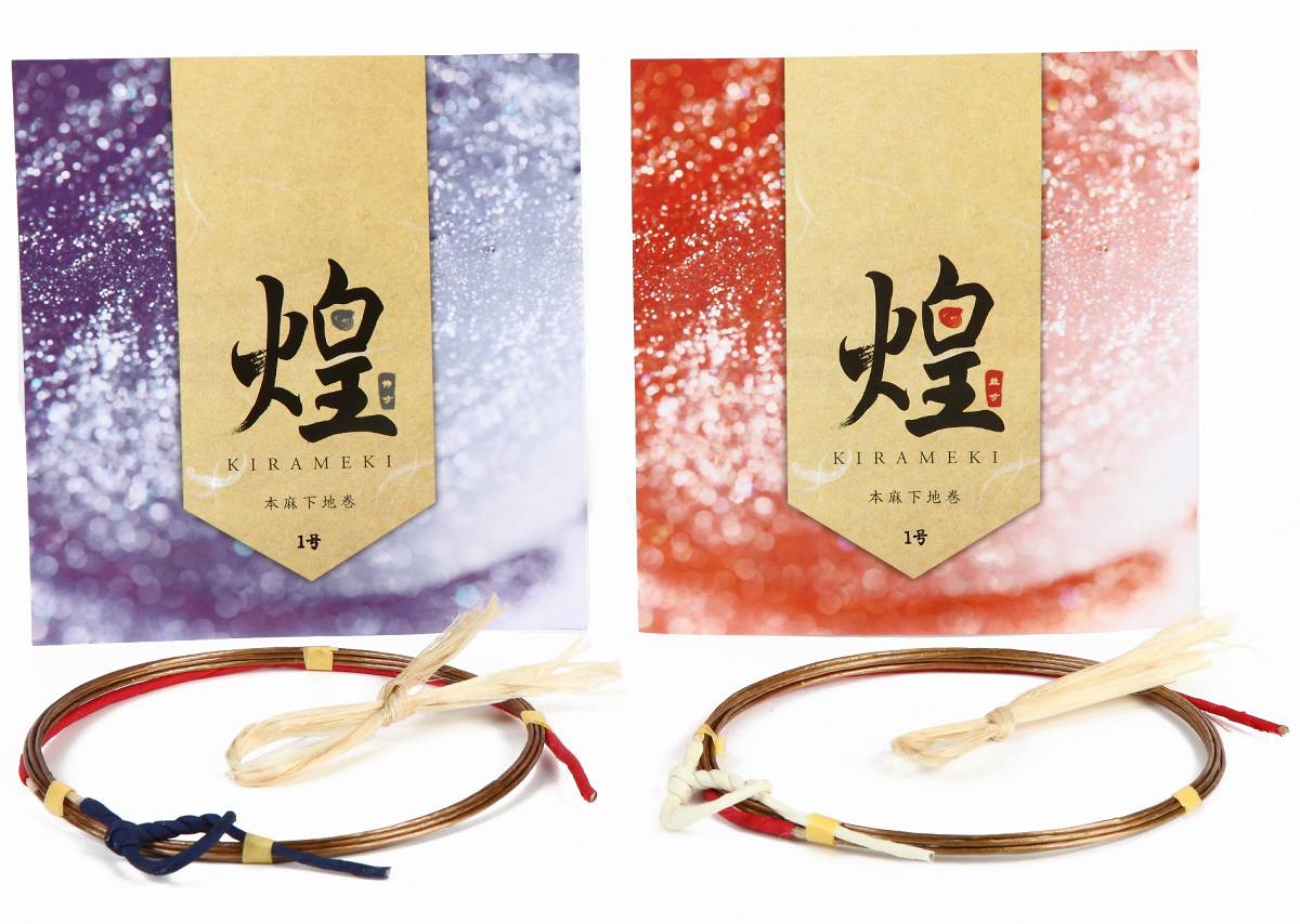 Kirameki Tsuru - Namisun,2sunNobi [1 strings per package.] High quality 煌 本麻下地 1本入り 並寸・二寸伸