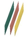 握り革 市松模様 鹿革 全3色 にぎり革 【F-395】【ネコポス対象】