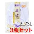 【足袋セット】ストレッチ足袋4枚コハゼ 2L・3L 3枚セット【SS-27】