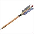 矢龍オリジナルえんぴつ矢 鉛筆矢 【筆記用具/文房具】【L-121】