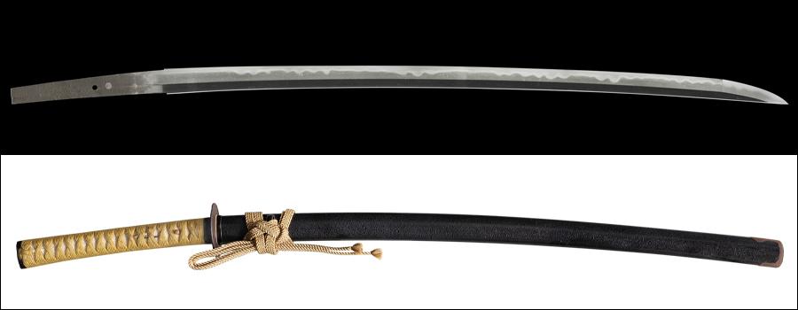 商品番号:M-153 刀 兼房作 特別貴重刀剣認定書付き 拵え入り
