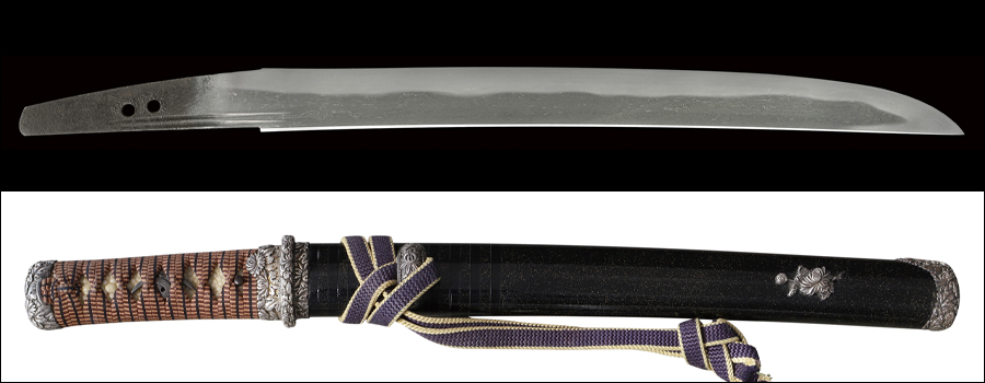 商品番号:M-201 短刀 兼房(かねふさ) 拵え入り