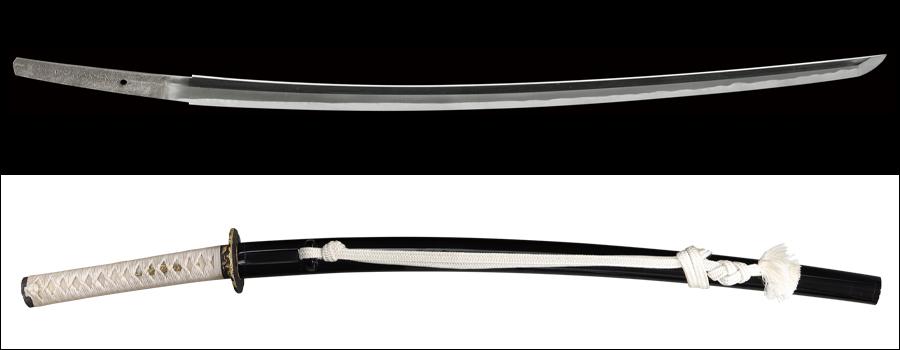 商品番号:M-234 刀 (太刀銘)備前介藤原宗次 拵え付き