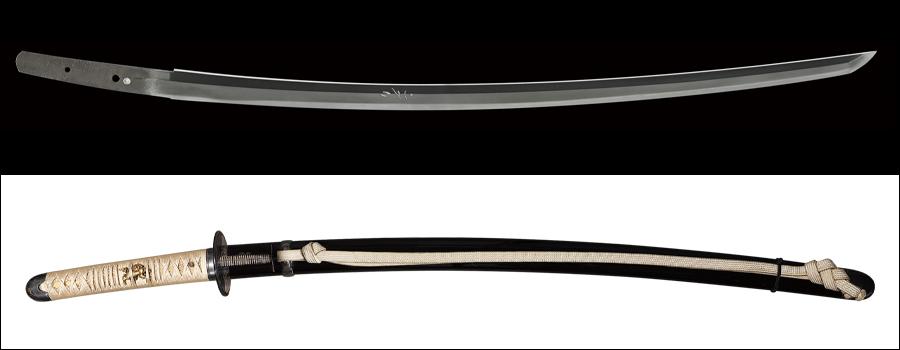 商品番号:M-660 太刀 (太刀銘)備州長船祐光 特別保存刀剣鑑定書付き 拵え付き