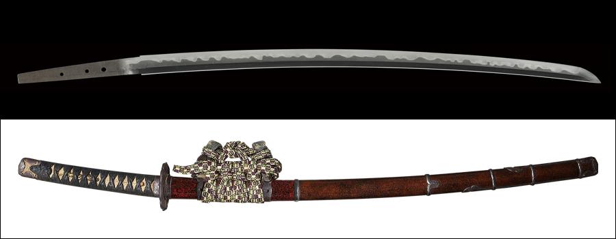 商品番号:M-774 刀 無銘(肥前行廣) 特別貴重刀剣認定書付き 拵え入り