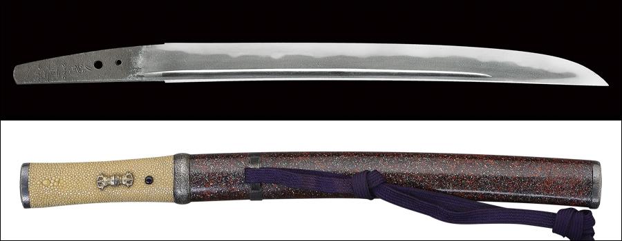 【売約済】商品番号:N-692 短刀 兼景 特別保存刀剣鑑定書付き 拵え付き