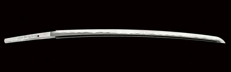 商品番号:N-871 刀 越後国義光作 昭和五十八年八月吉日 為打ち銘有り 無鑑査刀匠