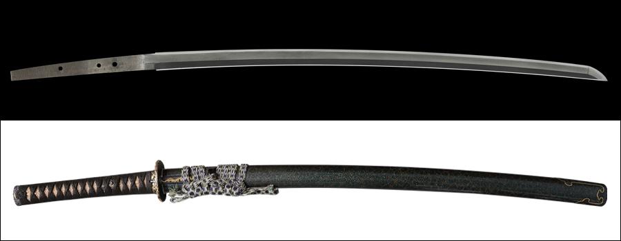 商品番号:V-1698 刀 来国俊(無銘) 拵え付き 第六十三回重要刀剣指定品