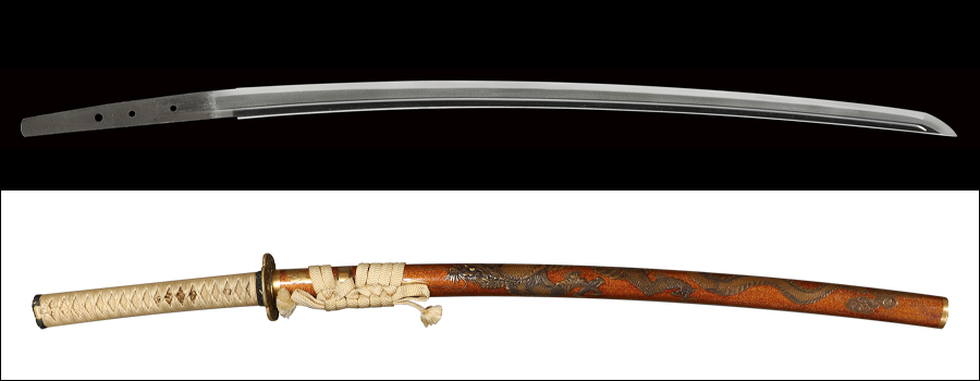 【売約済】商品番号:V-1813 刀 中島来(無銘) 第二十二回重要刀剣指定品 拵え付き