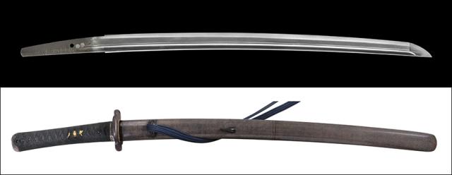 商品番号:L-765 脇差し 肥前国忠吉 拵え付き 内外共に特別保存刀剣鑑定書付き
