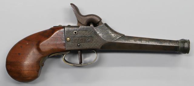 【売約済】商品番号:L-569 水平二連管打ち式短銃