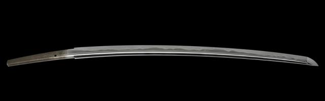 商品番号:L-678 刀 (菊紋)源正蔭作之 探山先生鞘書き有り