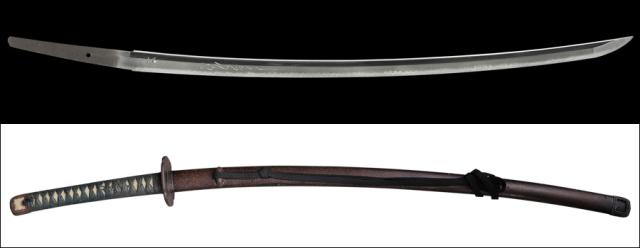 商品番号:L-946 刀 (太刀銘)国光 拵え入り