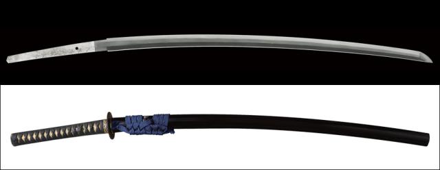 商品番号:M-007 刀 八鍬靖武精鍛之 無鑑査刀匠 拵え付き