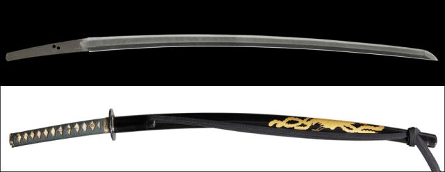 商品番号:M-128 刀 月山 保存刀剣鑑定書付き 拵え入り