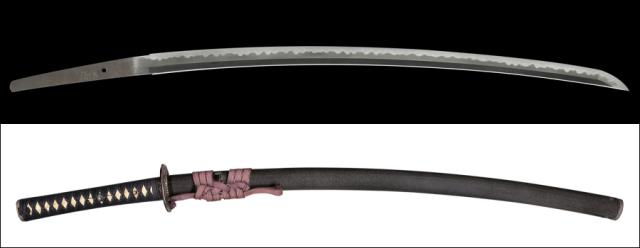 商品番号:M-191 刀 忠綱 拵え付き