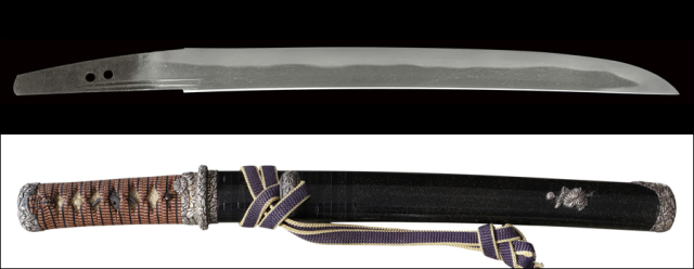 【売約済】商品番号:M-201 短刀 兼房(かねふさ) 拵え入り