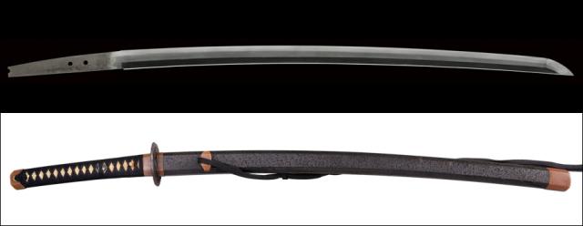 商品番号:M-300 刀 備前長船清光(無銘) 拵え入り 保存刀剣鑑定書付き