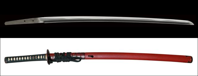 【商談中】商品番号:M-354 刀 無銘(初代忠吉) 特別貴重刀剣認定書付き 拵え付き