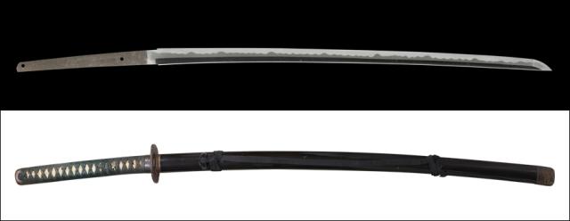 商品番号:M-399 刀 無銘 拵え付き