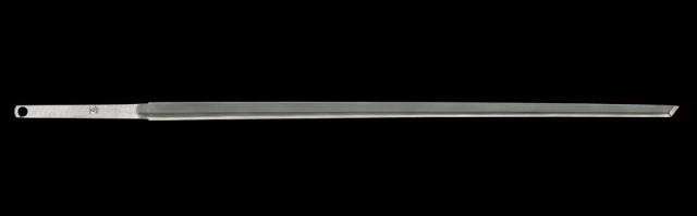 商品番号:M-460 直刀 (太刀銘)登(=樫山正春)