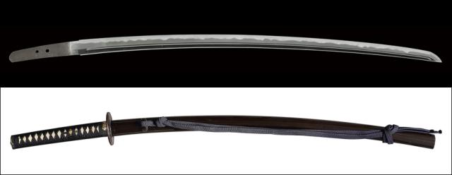 商品番号:N-171 刀 忠光(長船) 特別保存刀剣鑑定書付き 拵え付き