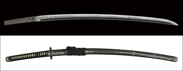 商品番号:N-300 刀 大宮(無銘) 特別保存刀剣鑑定書付き 拵え付き