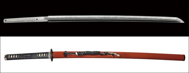 【売約済】 商品番号:N-521 刀 相模国剣白靖俊作 平成二二年五月吉日 拵え入り