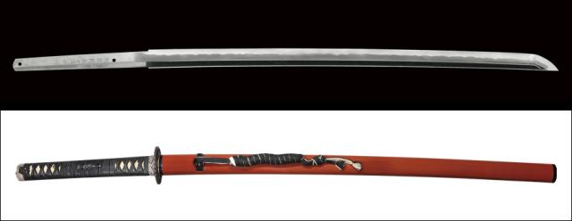 【売約済】商品番号:N-772 刀 相模国剣白靖俊作 平成二二年五月吉日 拵え入り