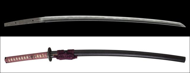 商品番号:N-786 刀 長船賀光(無銘) 保存刀剣鑑定書付き 拵え付き