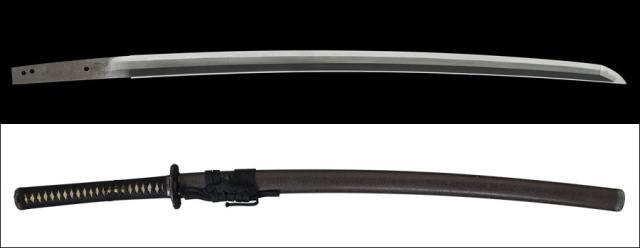 商品番号:N-870 刀 越前来(無銘) 保存刀剣鑑定書付き 拵え付き
