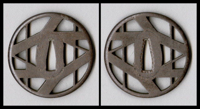 商品番号:T-098 鍔:八つ橋透図
