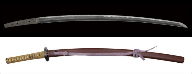 商品番号:V-1635 刀 兼元(孫六) 保存鑑定書付き 拵え付き