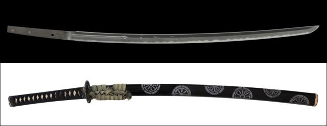 商品番号:V-1659 太刀 (太刀銘)信国 第六十一回重要刀剣指定品 本阿弥光遜先生鞘書き有り 拵え付き