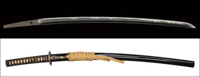 商品番号:V-1660 刀 越中守正俊 第二十三回重要刀剣指定品 探山先生鞘書き有り 拵え付き
