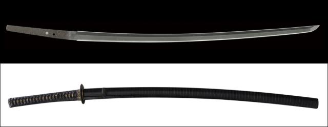 商品番号:V-1669 刀 山城国了戒(生ぶ無銘) 第二十八回重要刀剣指定品 拵え付き